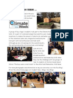 Eco News This Term - March 2014