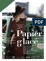 Exposition Papier Glacé - Musée Galliera - Paris