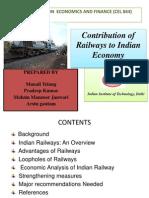 19_Contribution Railway to Economy_ppt