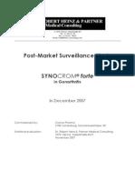 SYNOCROM Forte - Post-Market Surveillance Study 2007 En