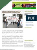 Servindi » Guatemala_ Empresa británica ENERGUATE agrede a campesinos con grupos