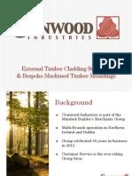 Cranwood Industries Cladding Presentation