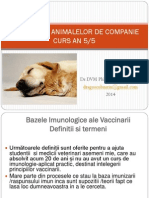 Vaccinarea Animalelor de Companie Principii Si Scheme De Vaccinare