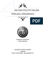 Kekuatan Dan Politik Dalam Perilaku Organisasi