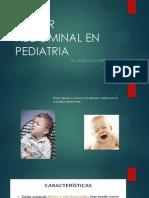Dolor Abdominal en Pediatria