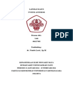Laporan Kasus Luki 406127003 - Uveitis Anterior