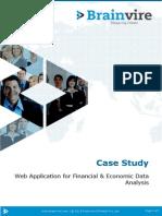 Java Flex UI Based Financial & Economic data analysis tool for investors