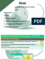 02 Disaster Risk Equation
