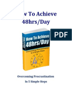 How to Achieve 48hrDay