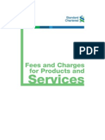 Fees and Charges