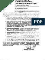 Mahestala Comletion Certificate