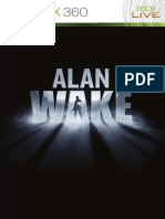 Alan Wake XBox 360 Manual