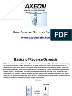 Reverse Osmosis, RO Water Treatment, Filtration, Purification Systems
