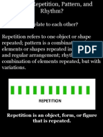 Repetition Pattern Rhythm