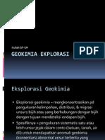 Bahan Kuliah 2 Geokimia Eksplorasi