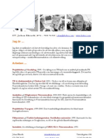 Johans CV