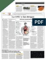 La ONU y las drogas