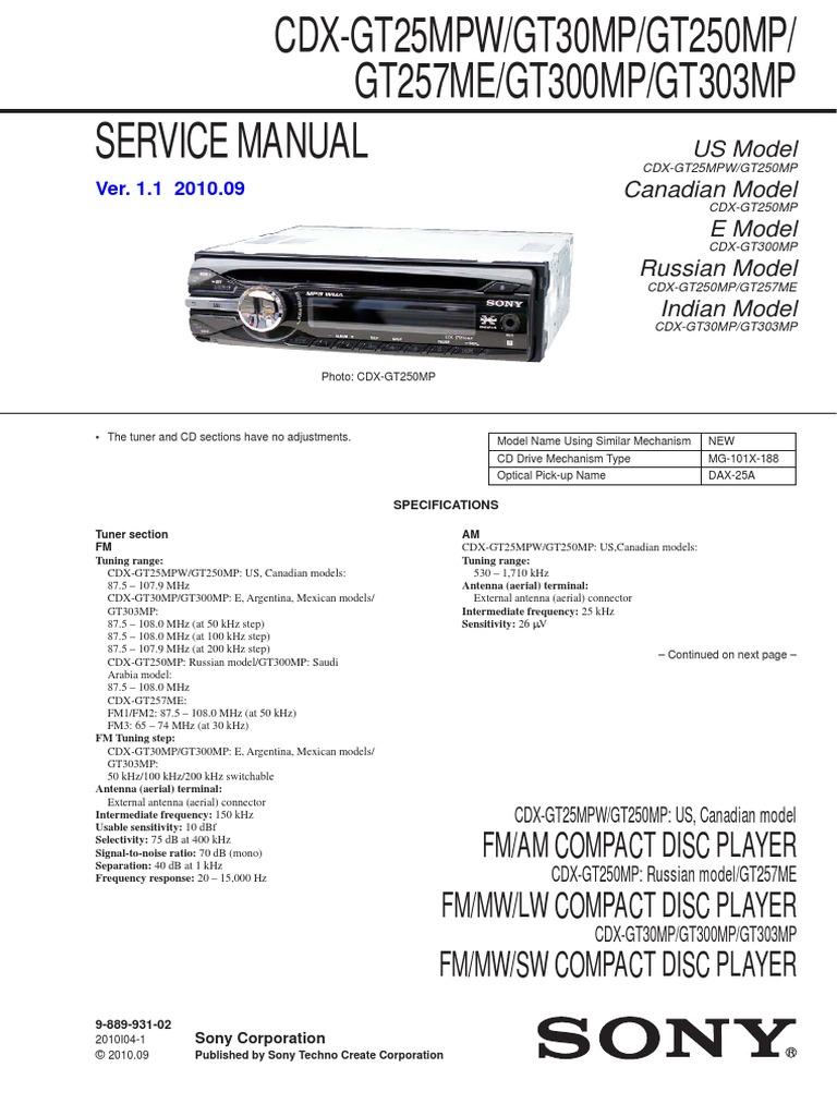Sony Cdx Gt10w Wiring Harness Diagram | Wiring Liry Sony Cdx Gt M Wiring Diagram Marine on