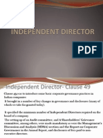 Independent director
