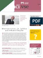 Revija Združenja Manager za uravnoteženje v procesu ekonomskega odločanja