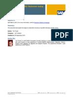How to Create BO Universe using SAP BW