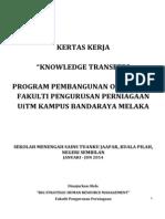 Kertas Kerja Pembangunan Organisasi2
