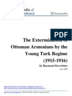 The Extermination of Ottoman Armenians by the Young Turk Regime