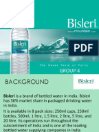 marketing strategies of bisleri Passionate marketer with diversified experience of sales and marketing who believes in living with his brands capable of planning and executing strategies in line with the corporate vision and strategic goals.