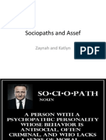 sociopaths and assef