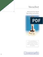 Mecmesin VersaTest Motorised Test Stand Manual (1)