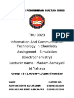Electrochemistry Simulation Repaired)