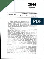 Teóricos Latin I 2006