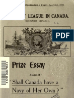 (1909) Shall Canada Have a Navy of Their Own? Navy League in Canada