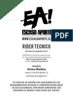Rider Tecnico de Ejemplo