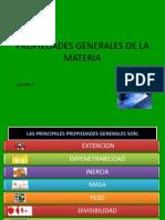 Propiedades Generales de La Materia
