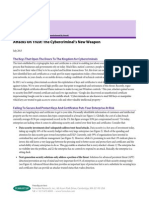 Forrester Research Attacks on Trust Cybercriminal Weapon