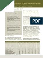 BC Economic Forecast  BC Economic Forecast 2013-17013-17_feb13
