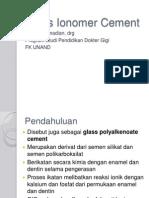 Glass Ionomer Cement_drg Ellis