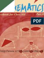 88431840 NCERT Mathematic Class XII Book Part II
