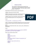 HTML Turtorial