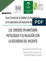 4 Errores en Anatomia Patologica