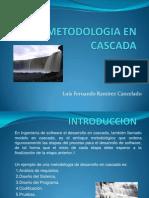 Metodologia Cascada Ing Software
