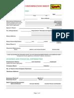 Mang Inasal Info Sheet