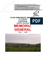Plan Urbanistic General Zona Cacica