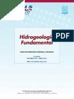 "4º Curso a distancia ""Hidrogeología fundamental"""