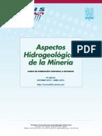 """4º Curso a distancia """"Aspectos hidrogeológicos de la minería"""""""