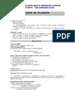 Guia de Estudos de Filosofia - Resumos I.doc