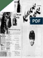 """""""Kulturno dobro"""", studentski fanzin iz 1988."""