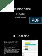 questionnaire evaluation presentation