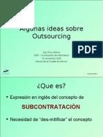 2005 11 18 GDF Conferencia Outsourcing